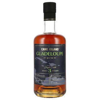 Cane Island Guadeloupe Single Estate Rum 3YO 0,7L