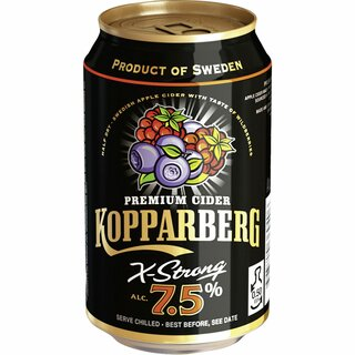 Kopparberg Wildberries 7,5% 24 x 0,33 ltr.