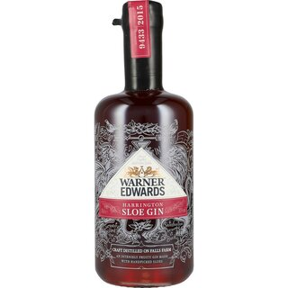 Warner Edwards Sloe Gin 30% 0,7 ltr