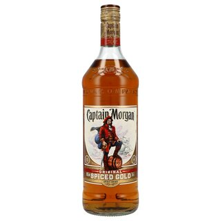 Captain Morgan Spiced Gold 35% 1,0 ltr.