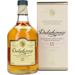 Dalwhinnie 15 Years 43% 1 ltr.