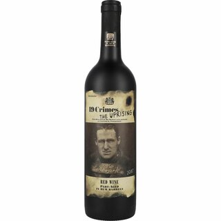19 Crimes the Uprising Red Wine 14,5% 0,75 l