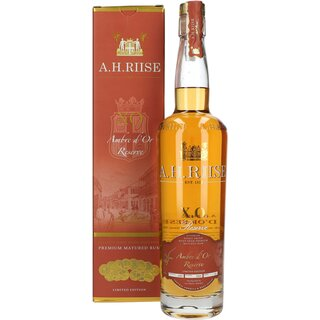 A.H.Riise XO Ambre d`or Reserve 42% 0,7 lrt