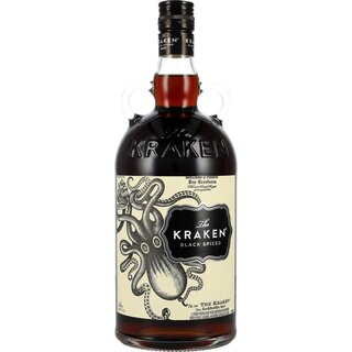 The Kraken Black Spiced Rum 40% 1 ltr.