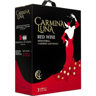 Carmina Luna Red Wine 15% 3 ltr.