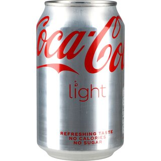Coca Cola light 24 x 0,33 ltr.